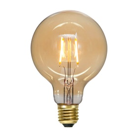 LED-Lampa E27 G95 Plain Amber 355-51