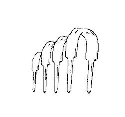 Letti-klammer 8-2B/16P