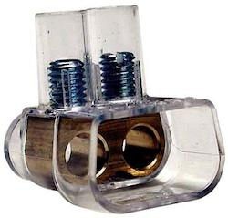 Kopplingsklämma 2X10 Transparent 50st