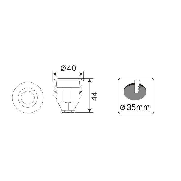 LightsOn Spectrum 10-pack, Komplett paket