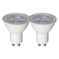 LED-Lampa GU10 Basic 2-Pack 170lm 348-71