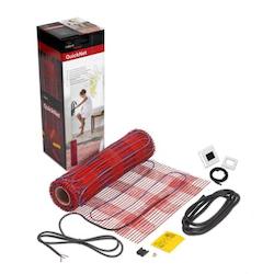 Golvvärmematta 2,0m²-180W med termostat