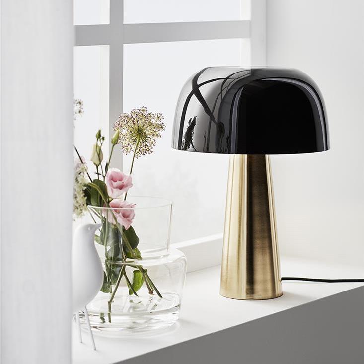Markslöjd Blanca Bordslampa Brons/svart