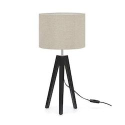 Markslöjd Lunden Bordslampa Svart/beige