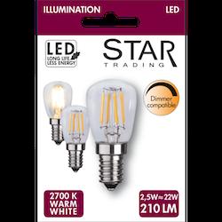 LED-Lampa E14 St26 Dimbar 220lm 352-42