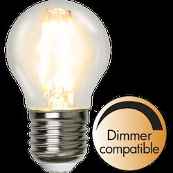 LED-Lampa E27 G45 Clear Dimbar 420lm 351-24