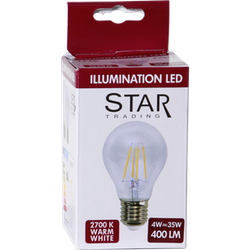LED-Lampa E27 A60 Clear 420lm 352-23