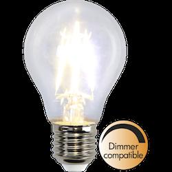 LED-Lampa E27 A60 Dimbar Clear 400lm 352-24
