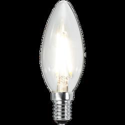 LED-Lampa E14 C35 Clear 270lm 351-01-1