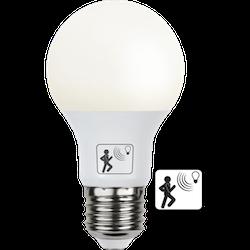 LED-LAMPA E27 A60 Rörelse Sensor LED 470lm