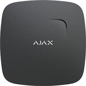 Ajax Brandvarnare rök och temperatur svart