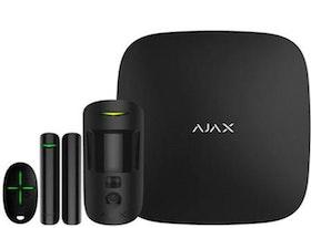 Ajax Startkit Hub 2 Svart MotionCam