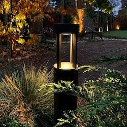 LightsOn Quadra Pollare LED Antrasitgrå
