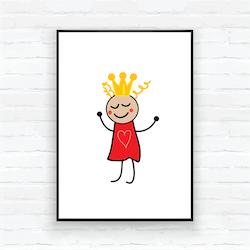 """Poster-""""Prinsessan Sigrid"""""""