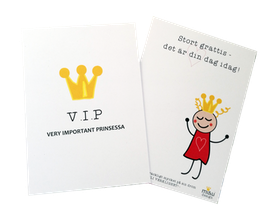 Congratulations card- Princess