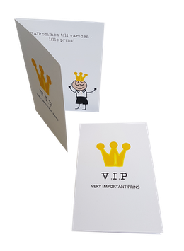 Welcome to the world card- Prince