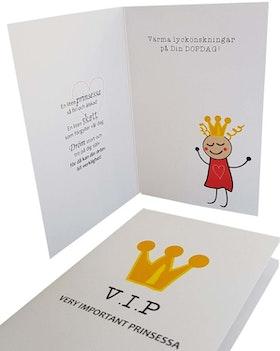 Baptist card- V.I.P princesse