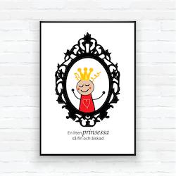 """Barntavla/poster-""""Spegel prinsessan Sigrid"""""""