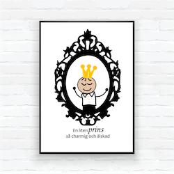 "Kopi Barntavla/poster-""Spegel prins Edvin"""