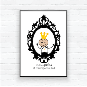 "Children poster-""Mirror Prince Edvin"""