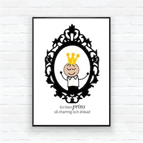 "Barntavla/poster-""Spegel prins Edvin"""