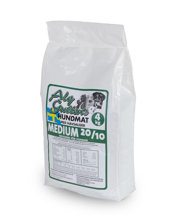 """4 kg MEDIUM 20/10, snällt för magen, smakrikt och """"lagom"""""""