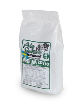4 kg MEDIUM 20/10, friskfoder som passar de flesta