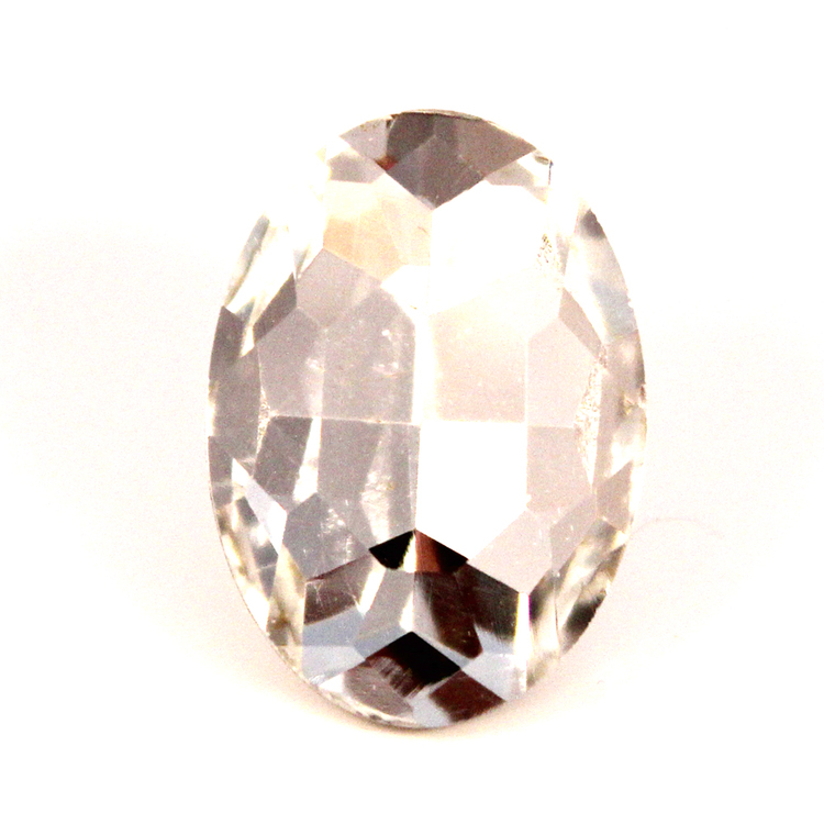 Crystal Kinesisk Strass Oval 18x13mm 2st