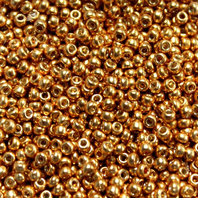 Duracoat Galvanized Yellow Gold 11-4203 Miyuki 11/0 10g