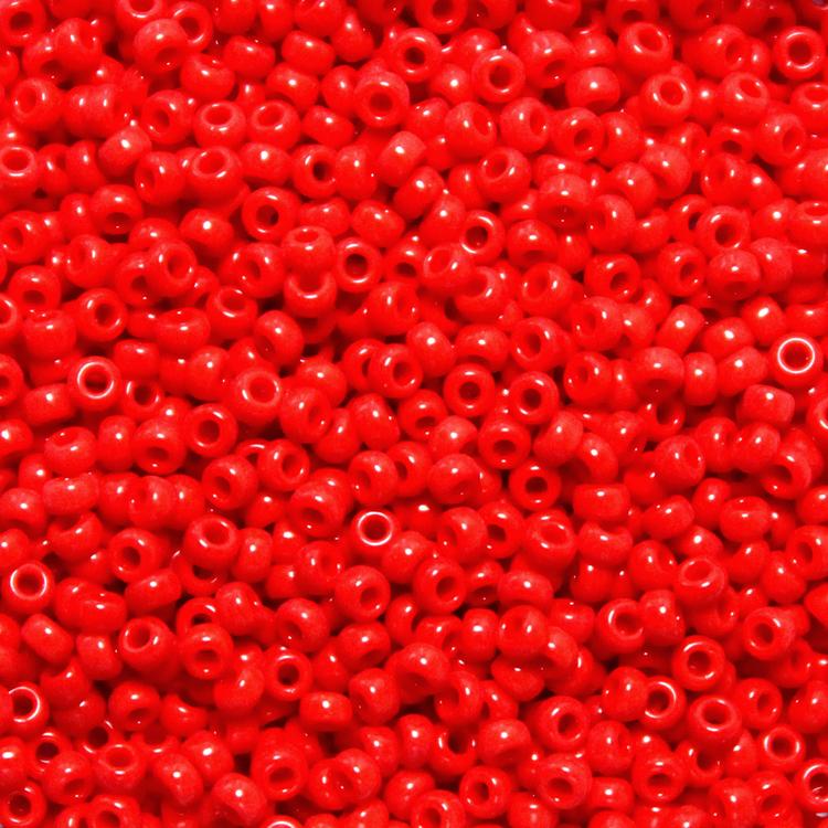 Opaque Red 11-408 Miyuki 11/0 10g