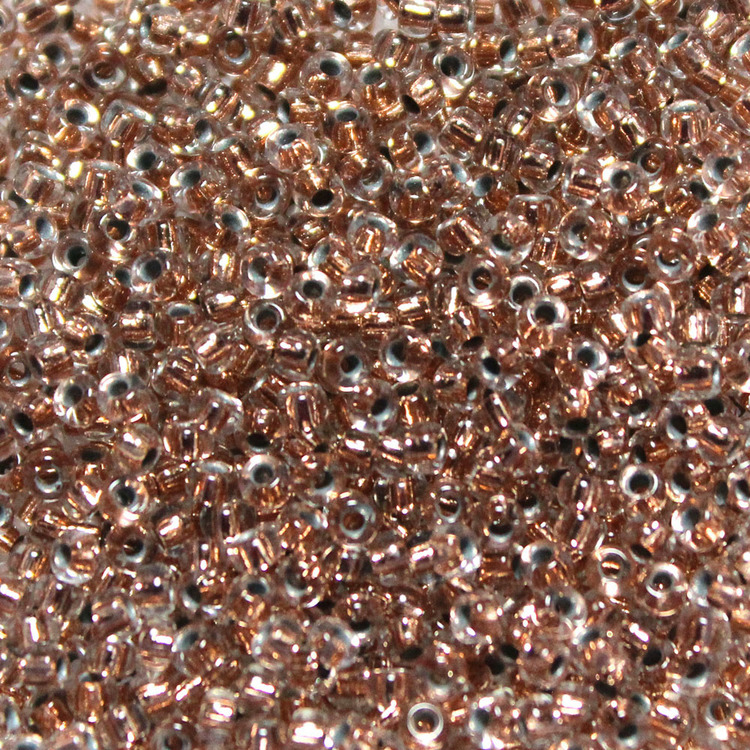 Copper Lined Crystal 11-0197 Miyuki 11/0 10g