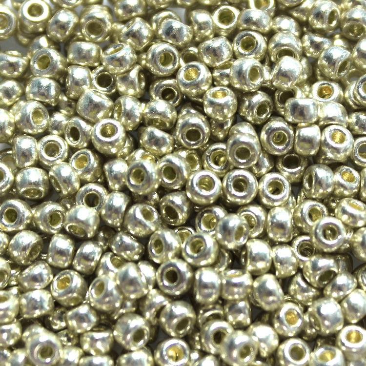 Duracoat Galvanized Silver8-4201 Miyuki 8/0 10g