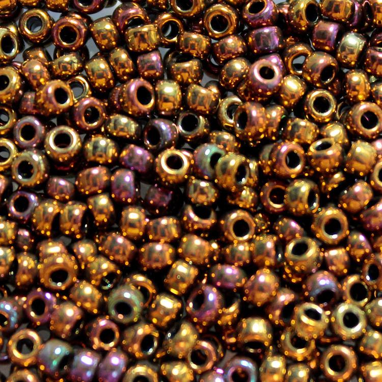 Metallic Gold Iris 8-0462 Miyuki 8/0 10g