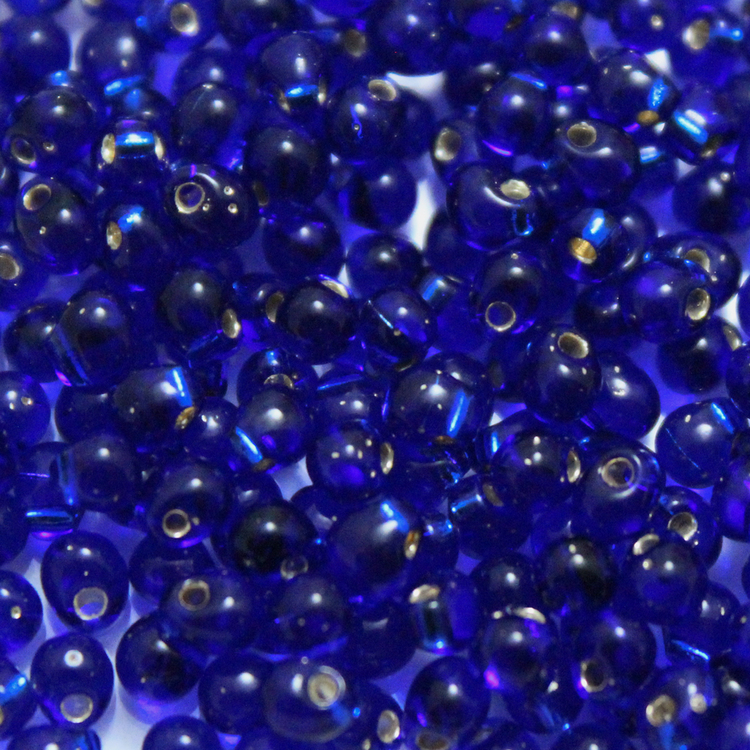 Silverlined CobaltDP-0020 Miyuki Drops 3,4mm 10g
