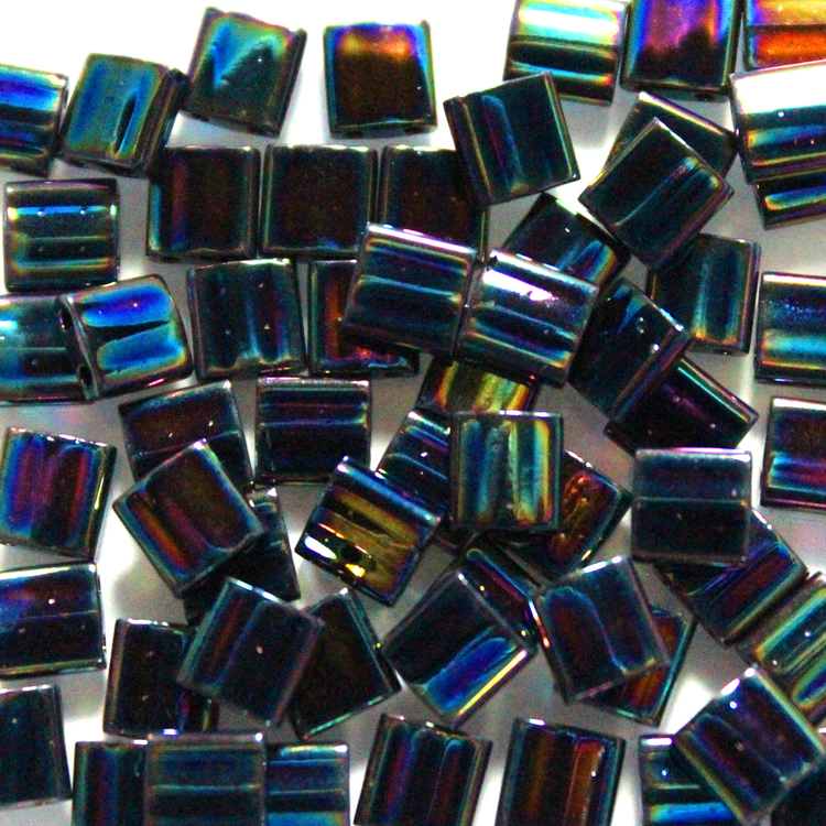 Metallic Variegated Blue Iris TL0455 Miyuki Tila 5g