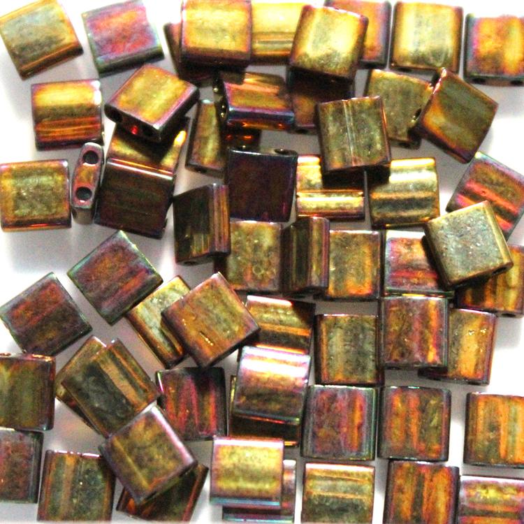 Metallic Gold Iris TL0462 Miyuki Tila 5g