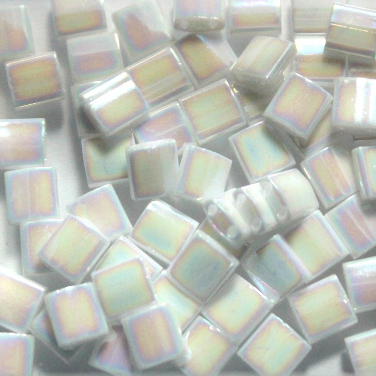 White Pearl AB TL0471 Miyuki Tila 5g