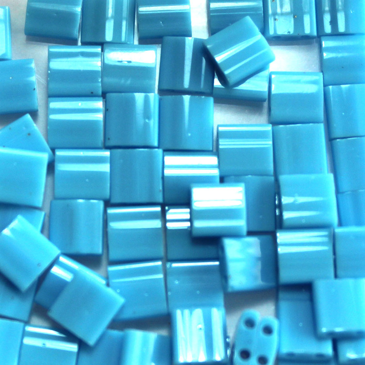 Opaque Turquoise Blue TL0413 Miyuki Tila 5g