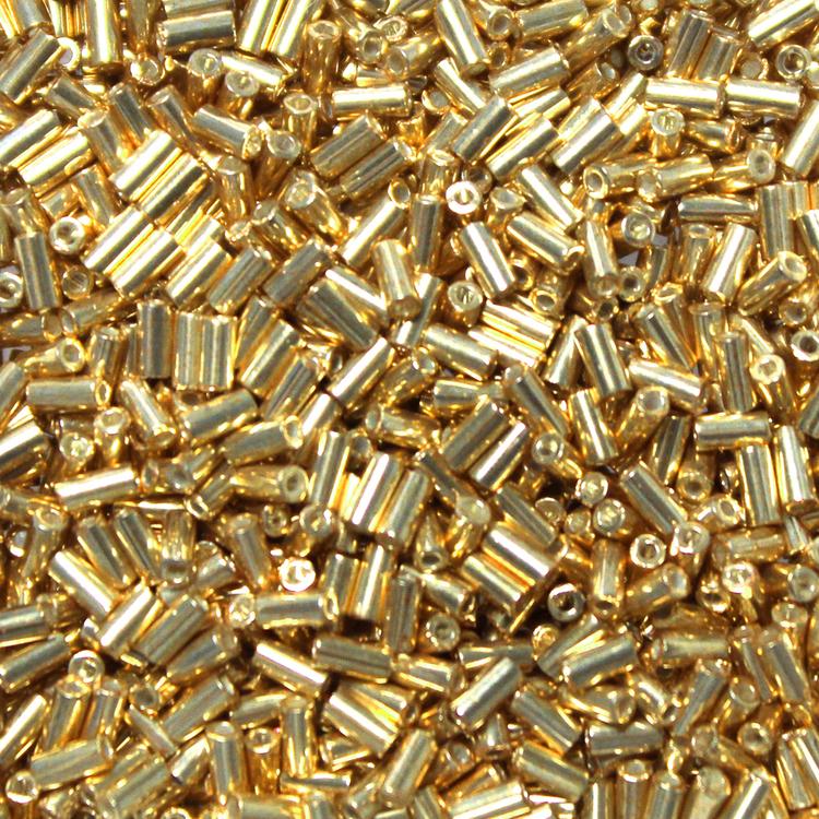 Galvanized Gold BGL1-0182 Miyuki Bugle Beads 3mm 10g