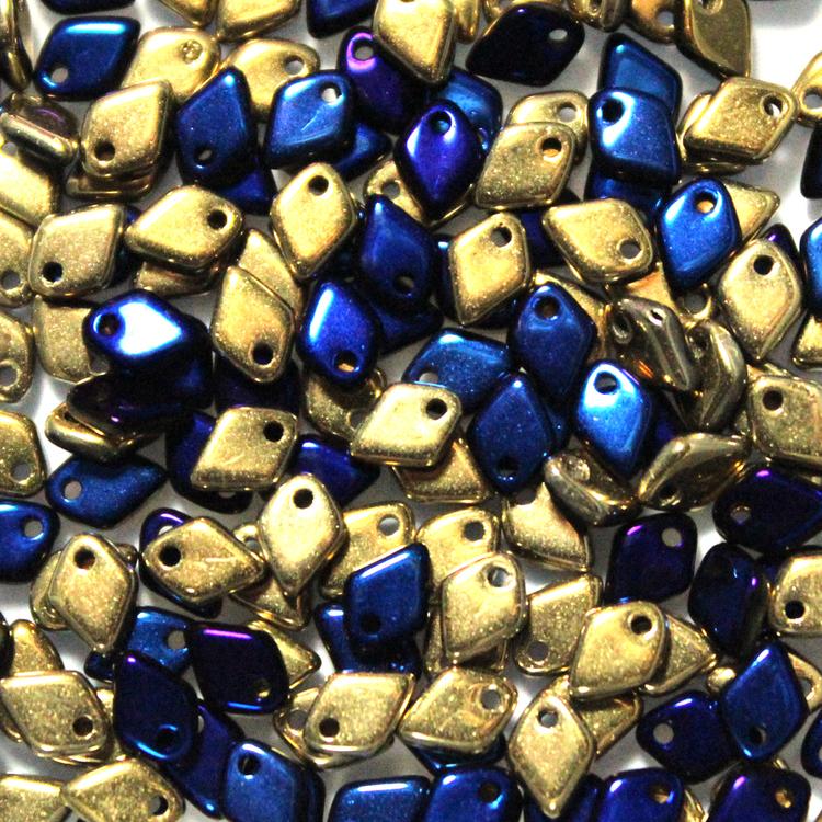 Jet California Blue Dragon Scale Bead 5g