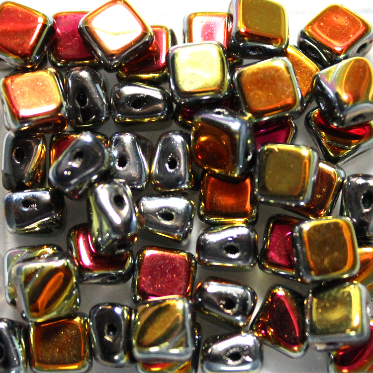 Jet Full Marea Silky Beads 50st