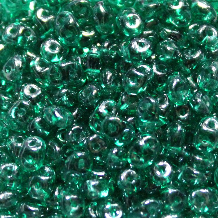 Emerald Luster Superduo 20g