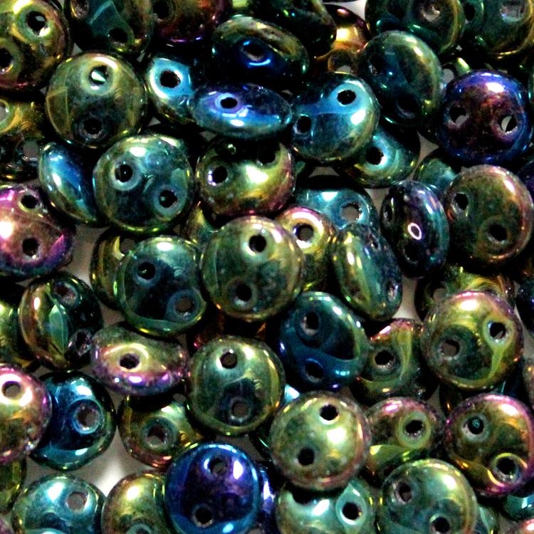Iris Green 2-Hole Lentil 10g
