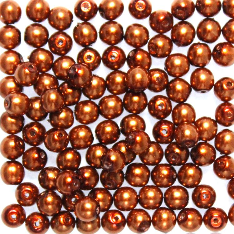 Copper Vaxade Runda/Druks 3mm 100st