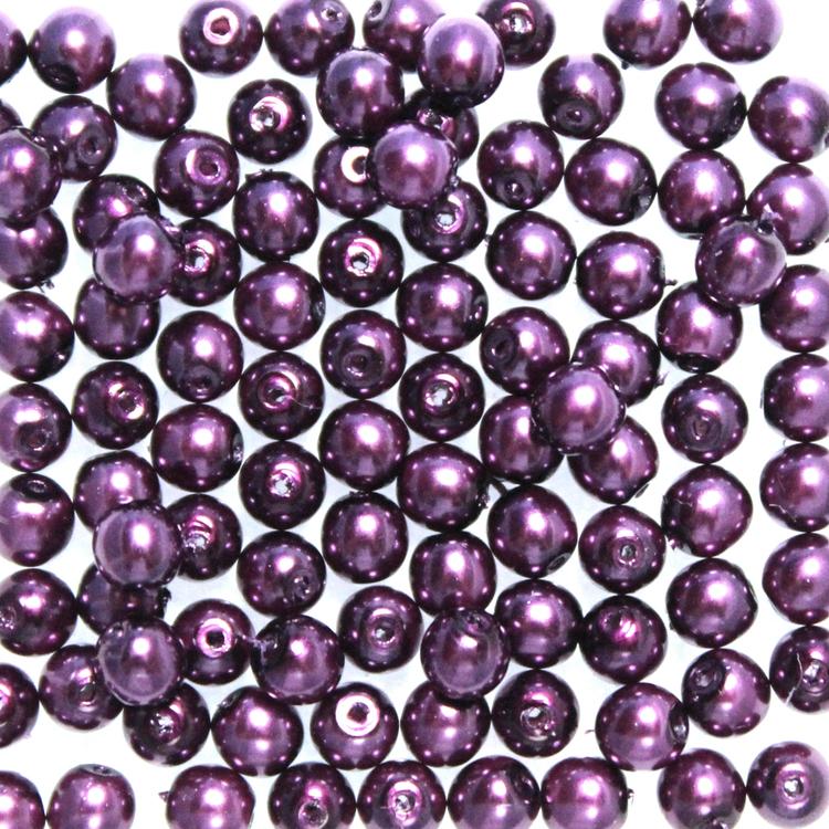 Violet Vaxade Runda/Druks 3mm 100st