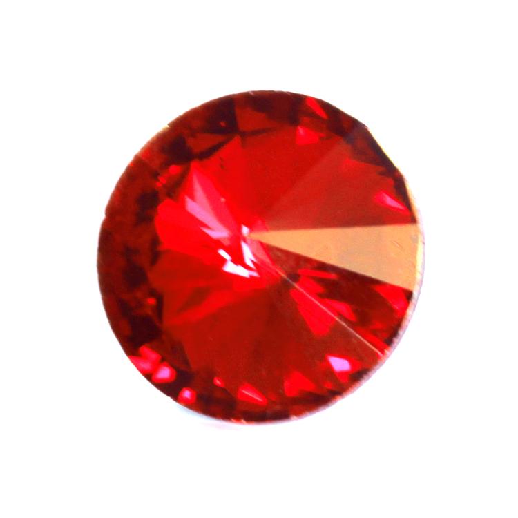 Ruby Kinesisk Rivoli 10mm 4st