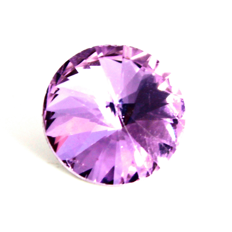 Violet Kinesisk Rivoli 10mm 4st