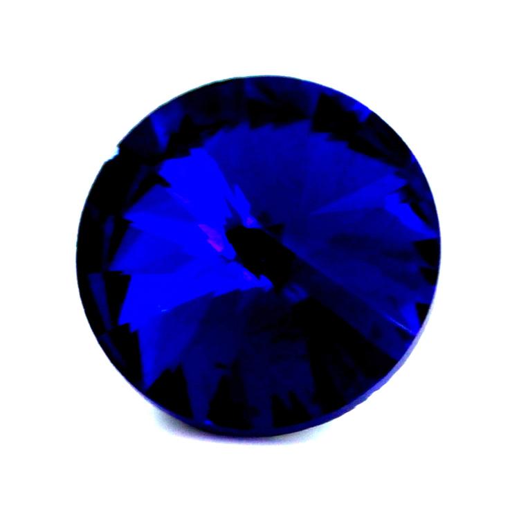 Cobalt Kinesisk Rivoli 10mm 4st