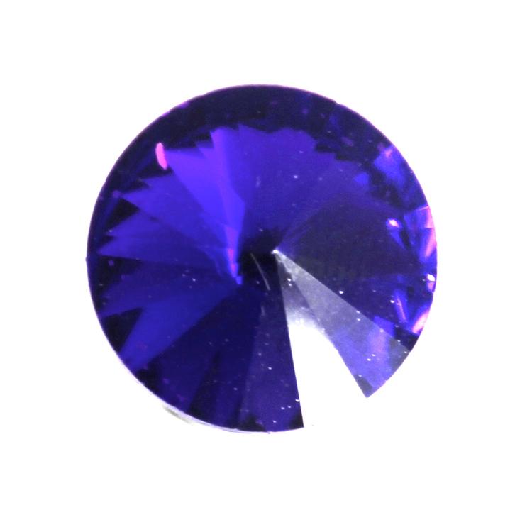 Sapphire Kinesisk Rivoli 12mm 3st