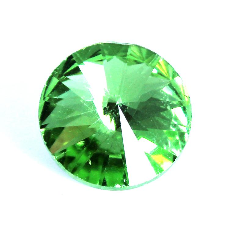 Light Green Kinesisk Rivoli 12mm 3st
